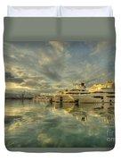 Rijeka Yachts  Duvet Cover