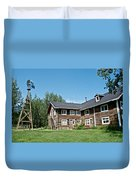 Rika's Roadhouse In Big Delta State Historical Park-ak Duvet Cover