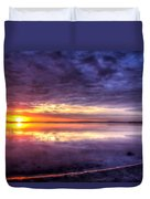 Rim Of Fire  Duvet Cover