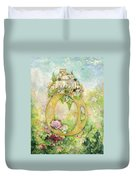 Ring And Rose Duvet Cover