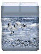 Ring-billed Gull Duvet Cover