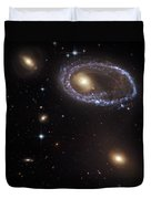 Ring Galaxy Duvet Cover