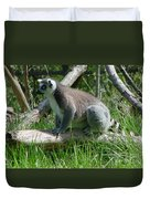 Ring Tailed Lemur Duvet Cover