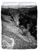 Rio Grande Gorge - Taos New Mexico Duvet Cover
