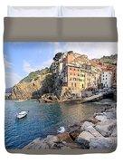 Riomaggiore Cinque Terre - Italy Duvet Cover
