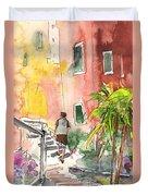 Riomaggiore In Italy 02 Duvet Cover