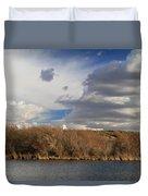 Riparian Zone Snake River Duvet Cover