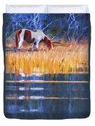 Rippled Reflection Duvet Cover