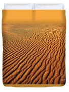 Ripple Patterns In The Sand 1 Duvet Cover