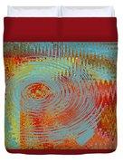 Rippling Colors No 1 Duvet Cover
