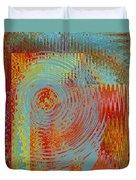 Rippling Colors No 2 Duvet Cover