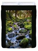 Rippling Rainforest Duvet Cover