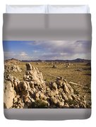 Rise Of Gneis Rock Formations Duvet Cover