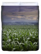 Rise To Meet The Day Duvet Cover