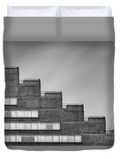 Rise To The Challenge Duvet Cover by Evelina Kremsdorf