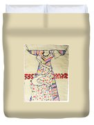 Risen Christ Duvet Cover by Gloria Ssali