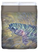 Rainbow Rising Duvet Cover