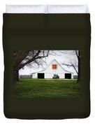 Rising Star Quilt Barn Duvet Cover