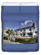Rising Sun At St Mawes  Duvet Cover