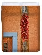 Ristra And Door Duvet Cover