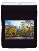 Rittenhouse Square In The Spring Duvet Cover