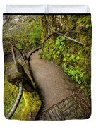 Exploring Columbia River Gorge - Highway 30 Duvet Cover