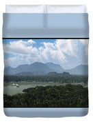 River And Riverboat... Duvet Cover