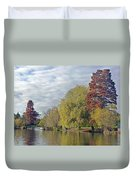 River Avon In Autumn Duvet Cover