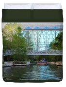 River Boating  Duvet Cover