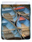River Boats Duvet Cover