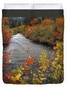 River Color Duvet Cover