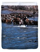 River Crossing Duvet Cover