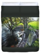 River Dee At Rhug Duvet Cover