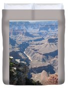 River Deep - Mountain High - Grand Canyon And Colorado River Duvet Cover