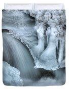 River Ice Duvet Cover