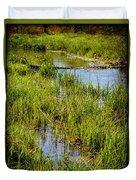 River Kennet Marshes Duvet Cover