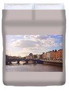 River Liffey 2 - Dublin Duvet Cover