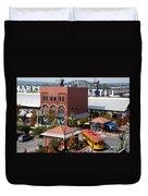 River Market In Little Rock Arizona Duvet Cover
