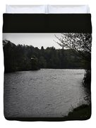 River Ness Near The Ness Islands In Inverness In Scotland Duvet Cover