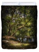 River Oak Duvet Cover