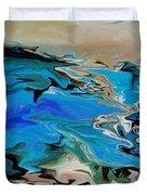 River Of Dreams Duvet Cover by Indira Mukherji