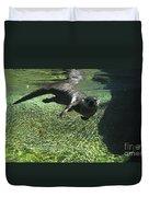 River Otter-7714 Duvet Cover