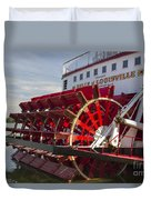 River Paddle Steamer Duvet Cover