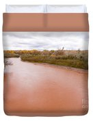 River Red New Mexico Duvet Cover