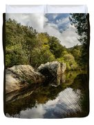 River Reflections II Duvet Cover