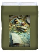 River Rock Path Duvet Cover