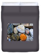 River Rocks 1 Duvet Cover