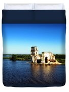 River Ruins Duvet Cover