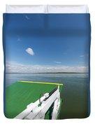 River Shannon Ferry, Tarbert-killimer Duvet Cover