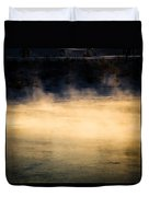 River Smoke Duvet Cover
